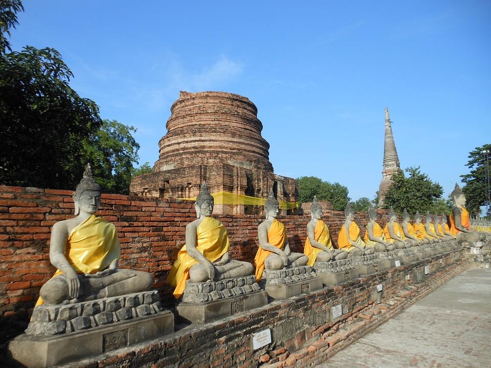 Buddha, Thailand, Buddhism, Temple