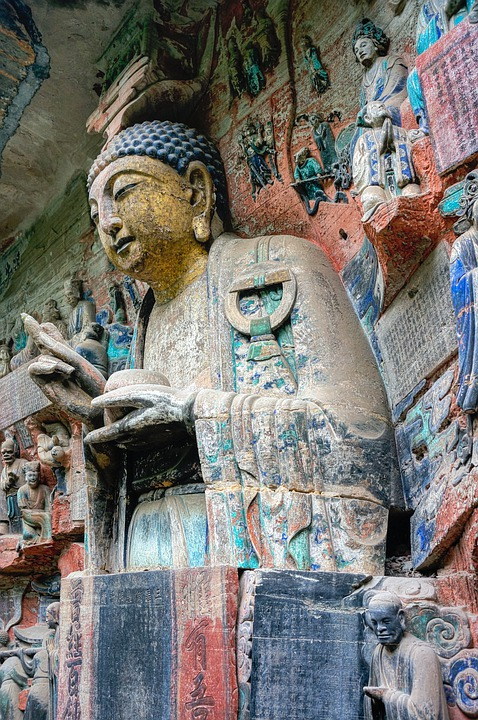 China, Buddha, Cave Temples To