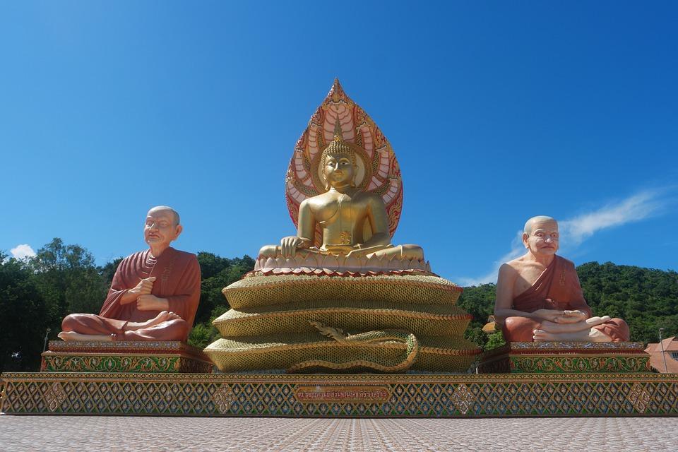 Naga, Buddha, Thai, Dragon, Meditation, Thailand, Budda