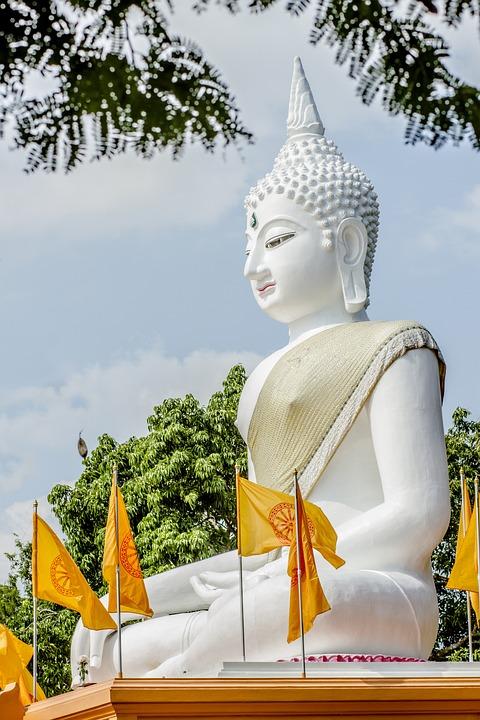 Big, Buddha, Buddhism, Thailand, Pray, East, Prayer