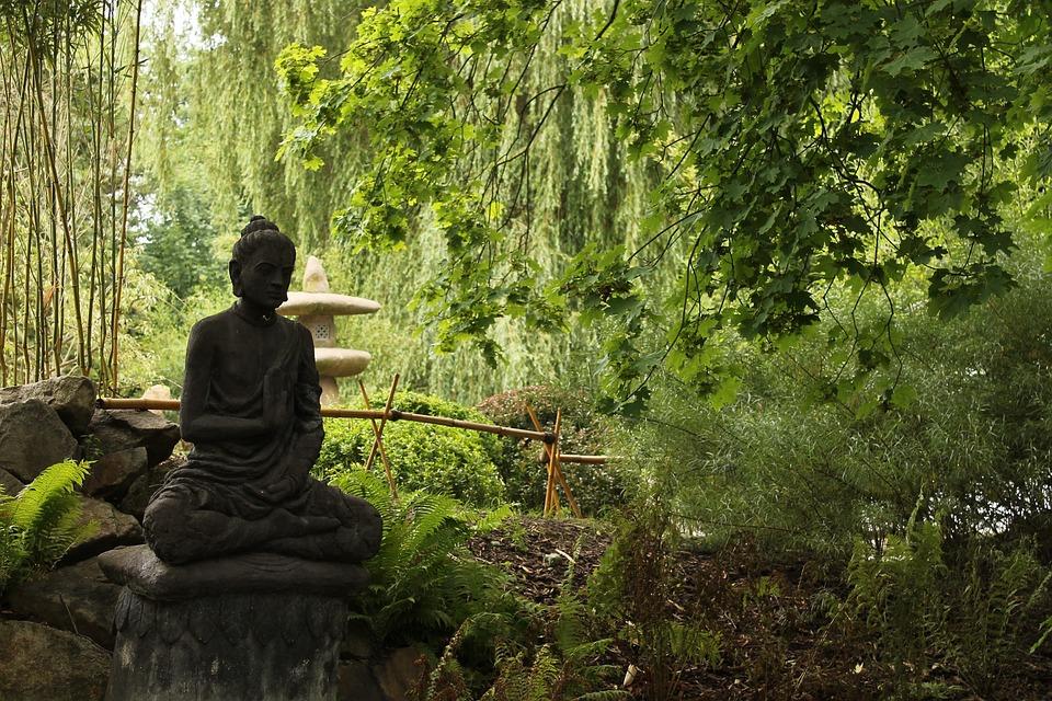 japan zen garden buddha - Buddha Garden