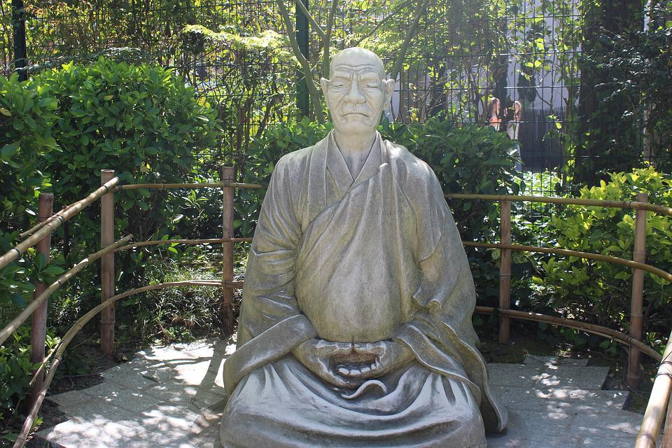 Buddha, Park, Toulouse, Japanese Garden Toulouse