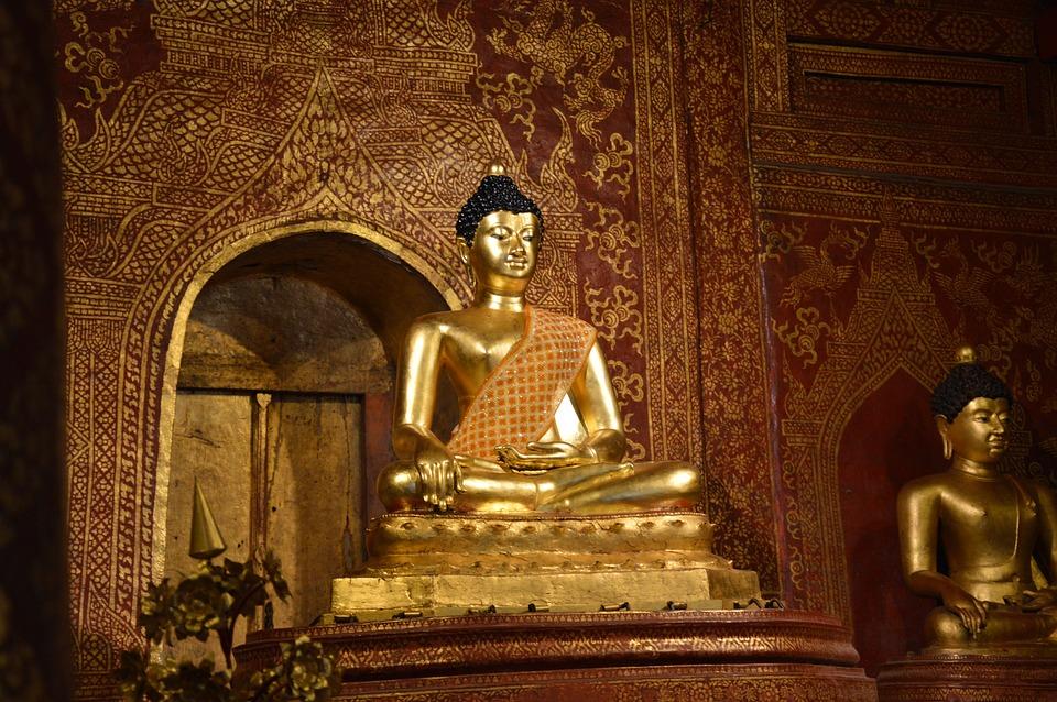 Temple, Thailand, Travel, Buddha, Buddhist, Meditation