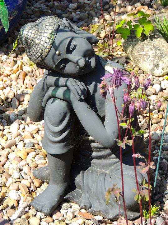 Buddha, Garden Ornament, Ornament, Garden, Statue