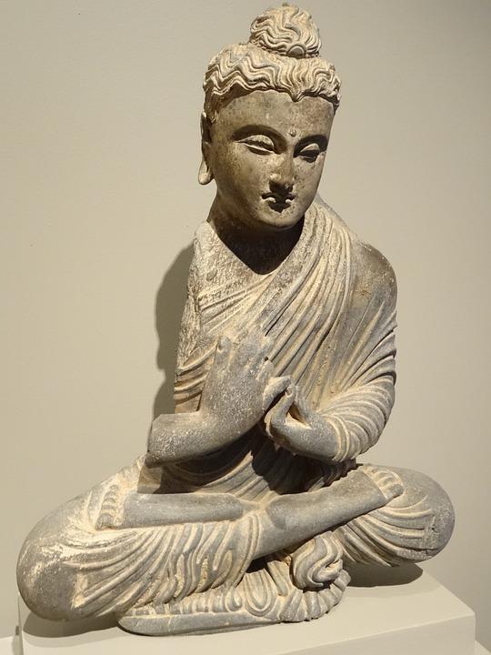 Yoga, Buddha, Legged, Relaxation, Meditation, Antique