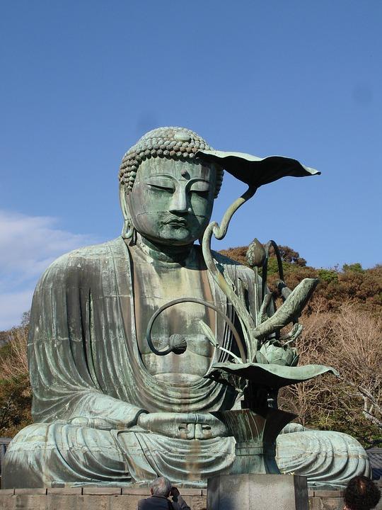 Buddha, Statue, Kamakura, Japan