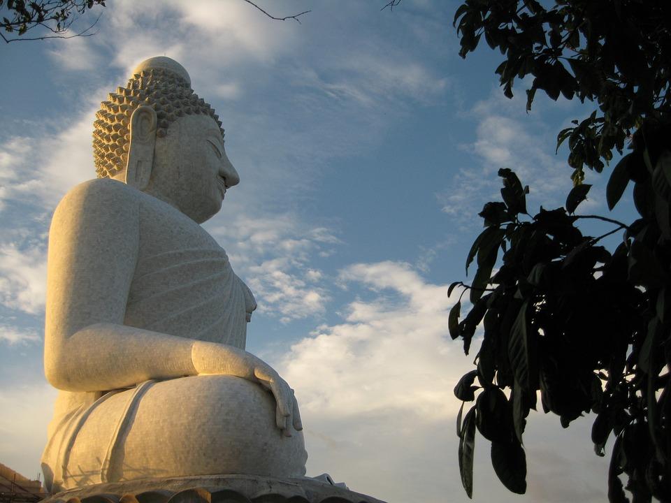 Buddha, Statue, Buddhism, Thailand, Buddhist, Phuket