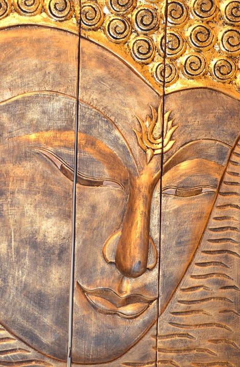Buddha, Buddha Head, Buddha Wall Carving