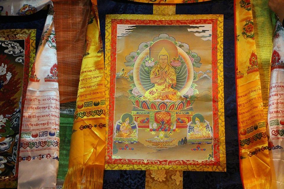 Buddha, Zulu Festival, Faith, Picture, Painting