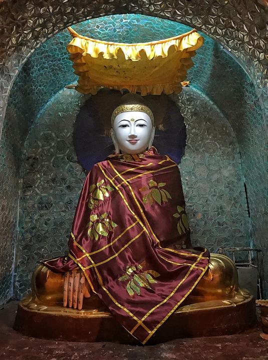 Buddha, Statue, Icon, Buddhism, Religion, Sculpture