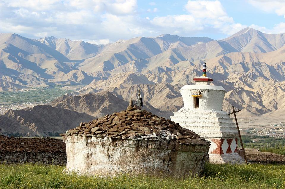 India, Ladakh, Himalaje, Buddhism