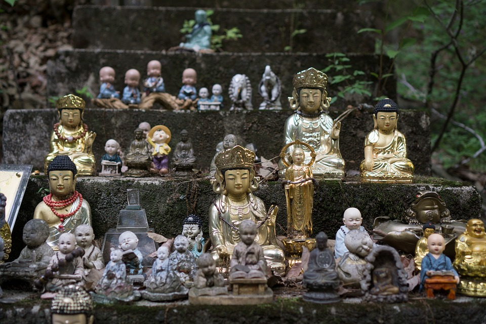 Buddhism, Buddha, Temple, Asia, Culture, Doll, Korea