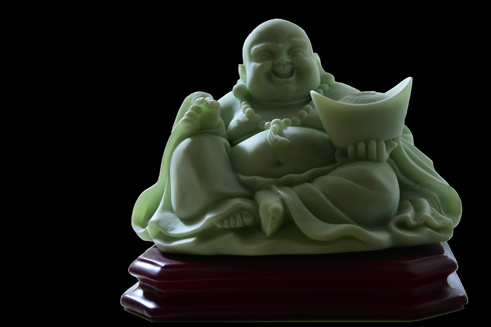 Smiling, Buddha, Buddhism, Smile, Statue, Religion