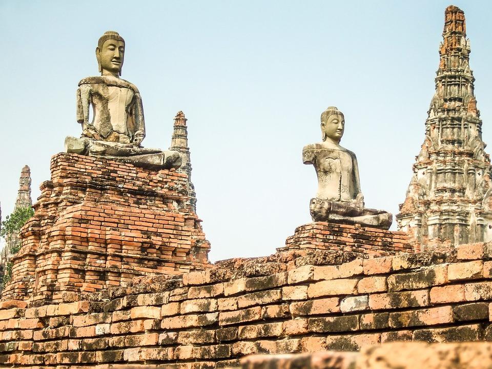 Thailand, Buddha, Temple, Buddhism, Landmark, Culture