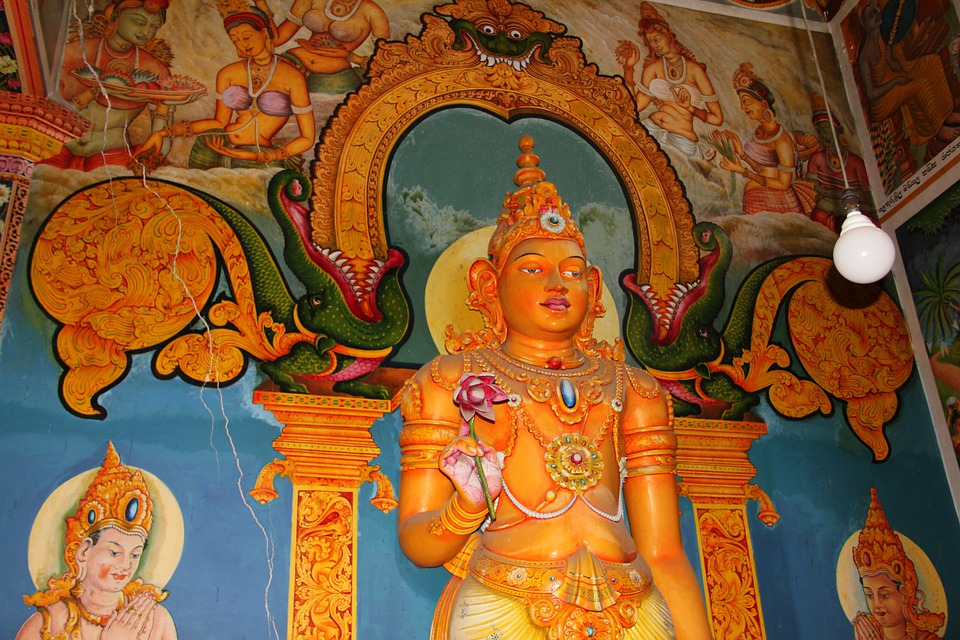 Buddhism, Temple Complex, Buddhist Temple, Sri Lanka