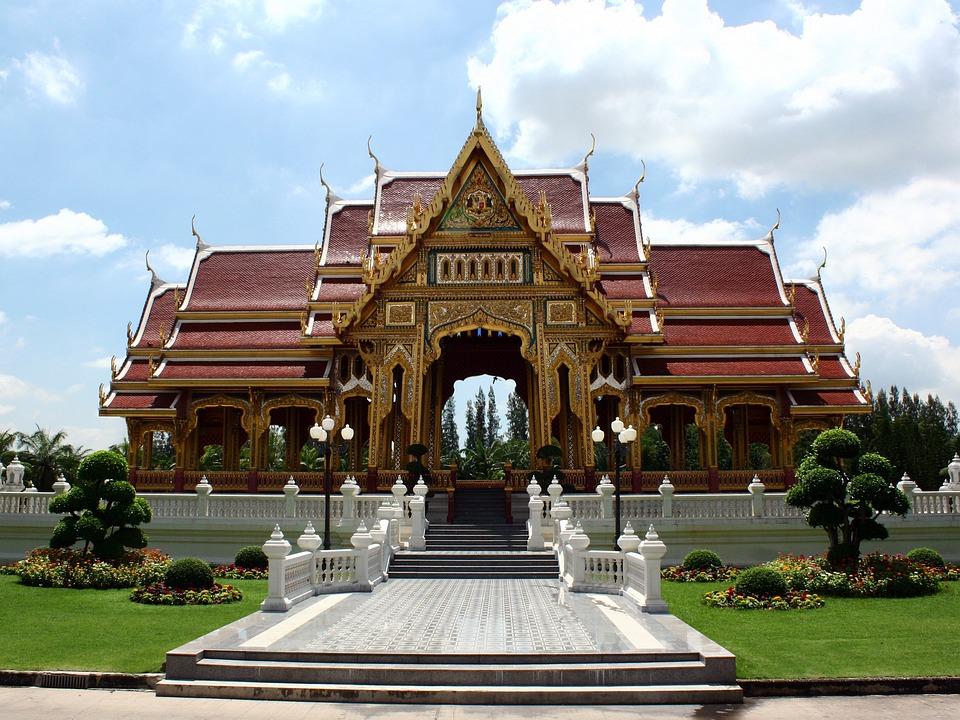 Temple, Buddhism, Thai, Religion, Thailand, Buddhist