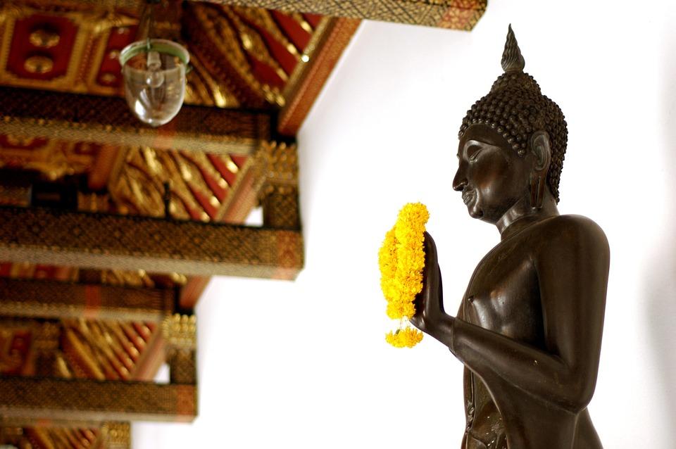 Temple, Thailand, Buddhism, Religion, Wat, Buddhist