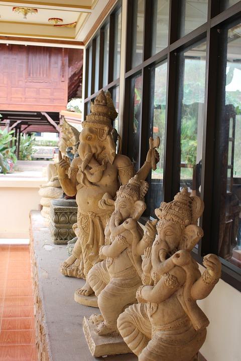 Thailand, Religious, Buddhist, Asia, Statue