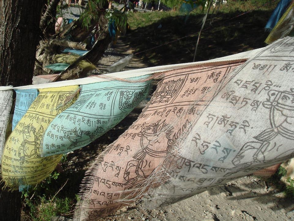 Flag, Buddhism, Buddhist, Sacred, Prayer, Holy, Nepal