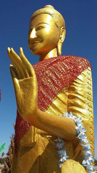 Buddhist, Temple, Cambodian, Stockton