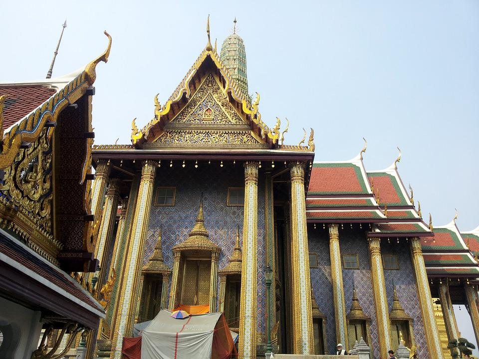 Temple, Buddhist, Thai