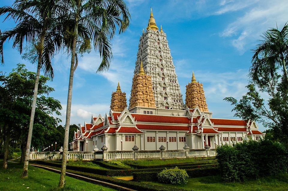 Temple, Buddhism, Thailand, Sanctuary, Buddhist, Tower