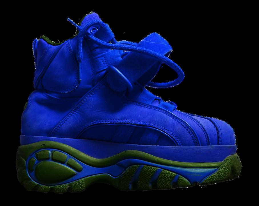 Shoe, Platform Shoe, Sole, High, Buffalo, Blue