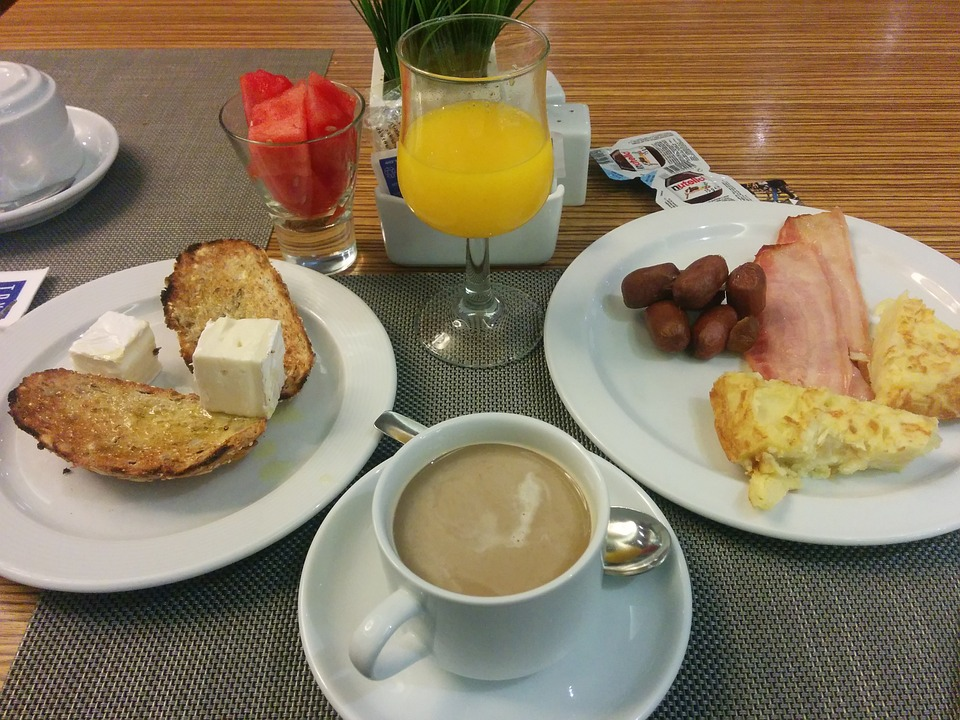 Breakfast, Hotel, Buffet