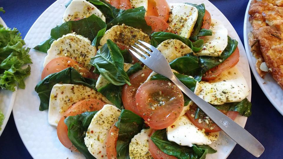 Caprese, Salad, Italy, Party, Buffet