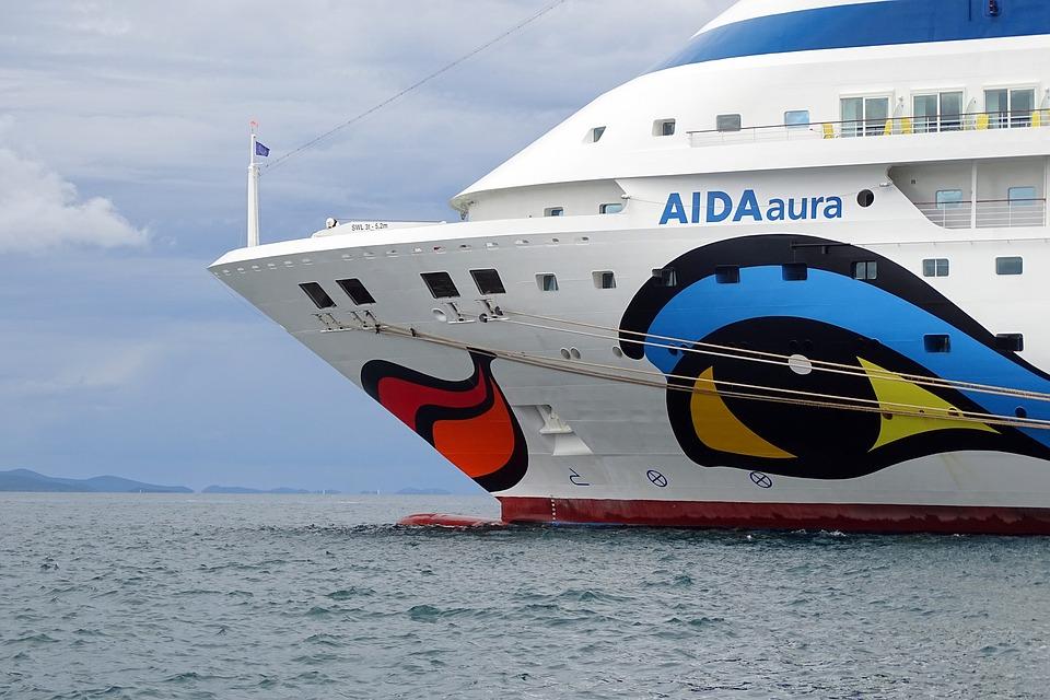 Cruise Ship, Bug, Ship, Aida, Cruiser, Cruise