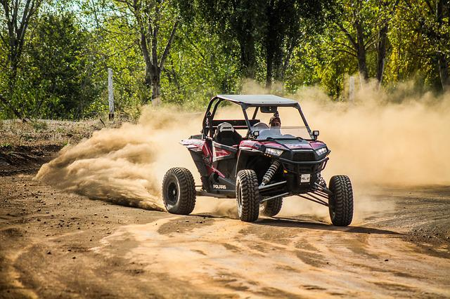 Buggy, Polaris, Rzr, 1000, Drift, Drifting, Offroad