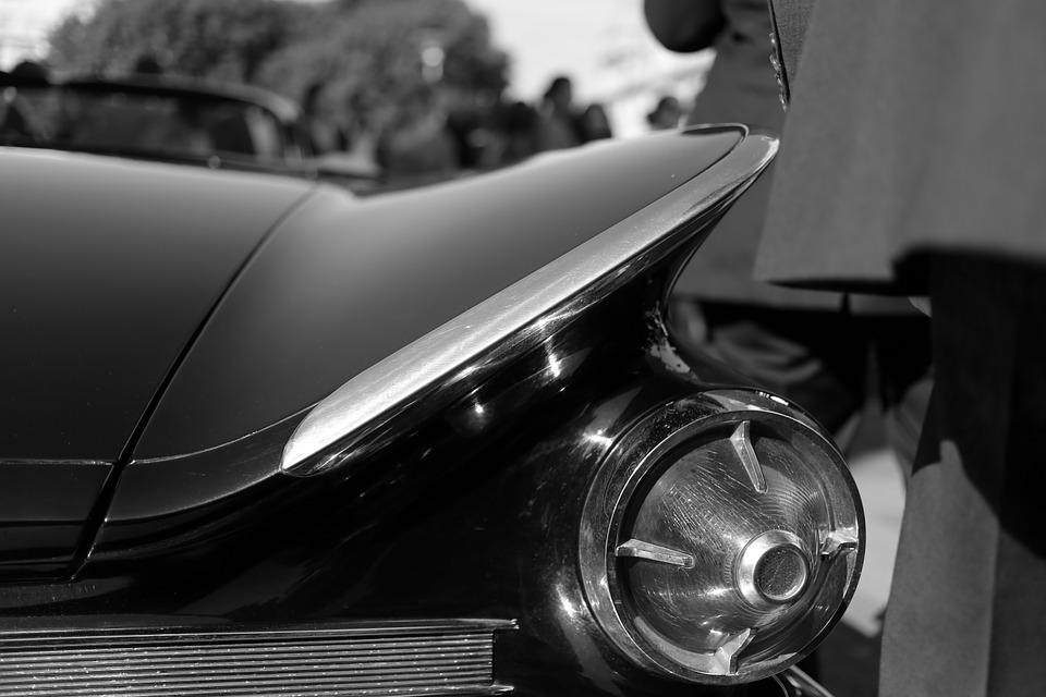 Buick, Automatic, Retro, Vintage, Black, Light