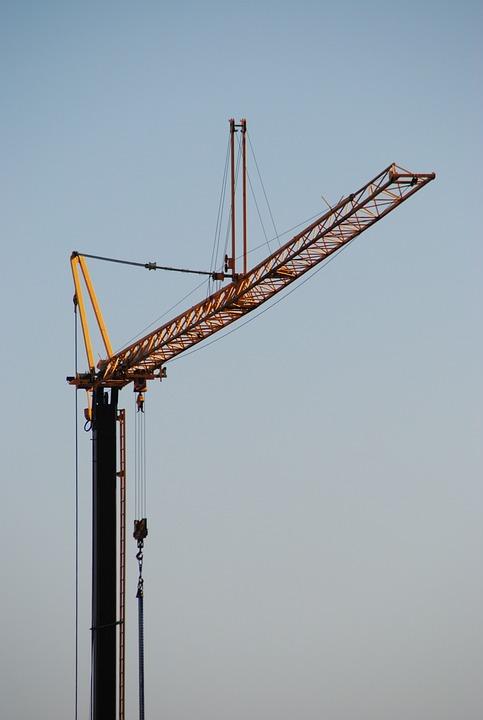Baukran, Site, Crane Arm, Build, Crane, Crane Boom