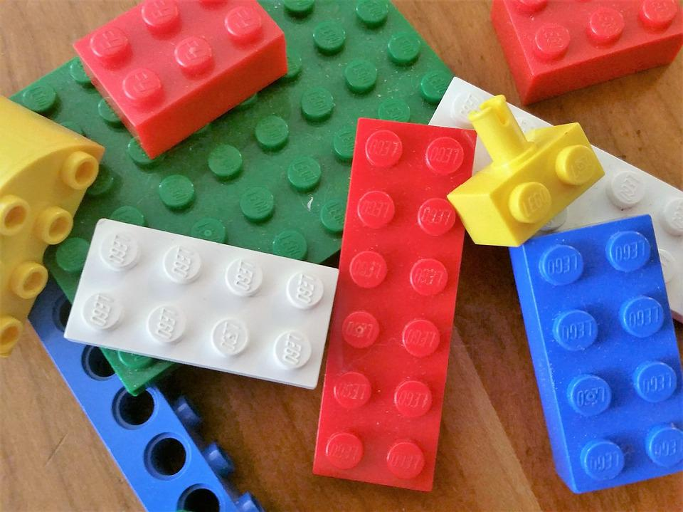 Lego, Build, Connect, Toy, Block