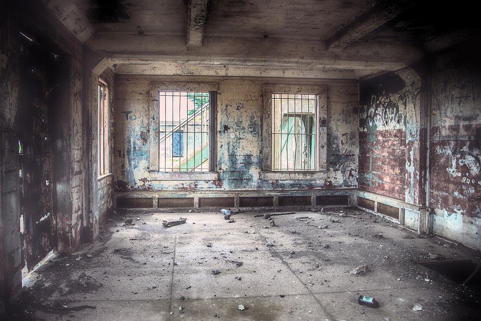 Abandoned, Derelict, Ruin, Building, Architecture