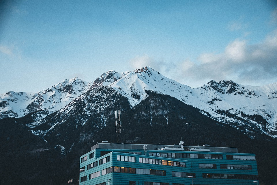 Mountains, Alps, Building, Alpine