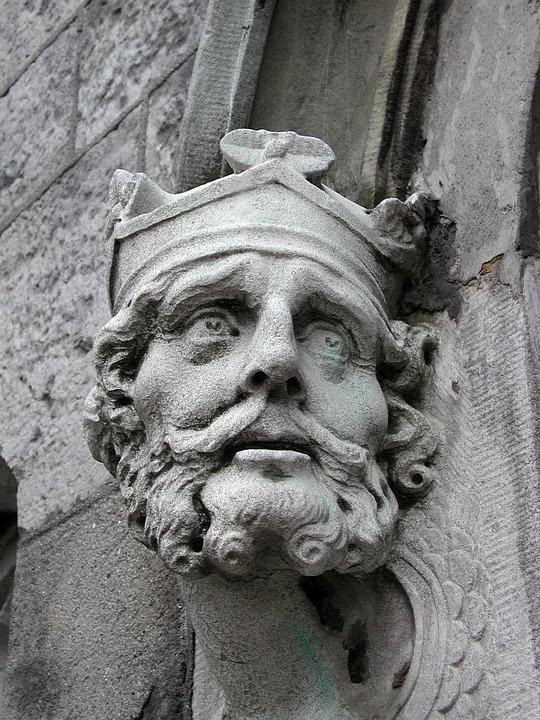 Gargoyle, Building, Beard, Gothic, Architecture