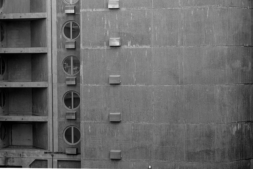 Building, Concrete, Architecture, Facade