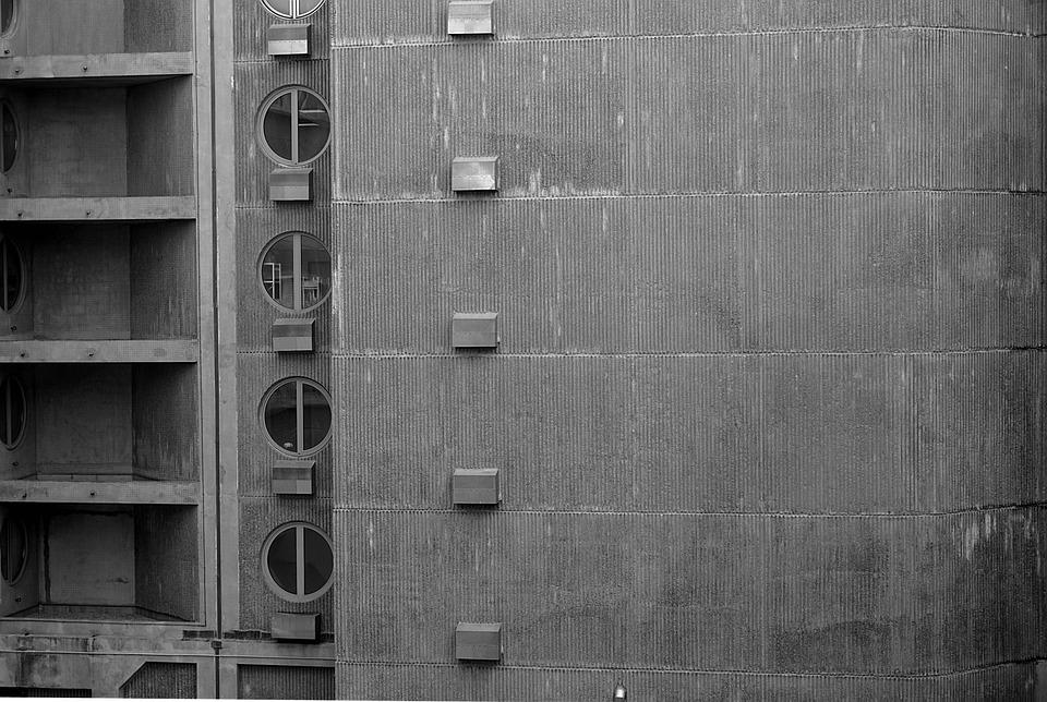 Building, Concrete, Architecture, Facade