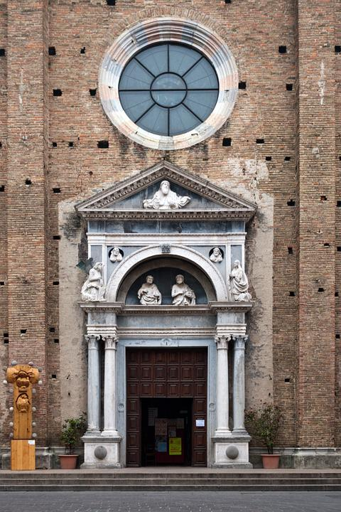 Basilica, Entrance, Architecture, Facade, Building