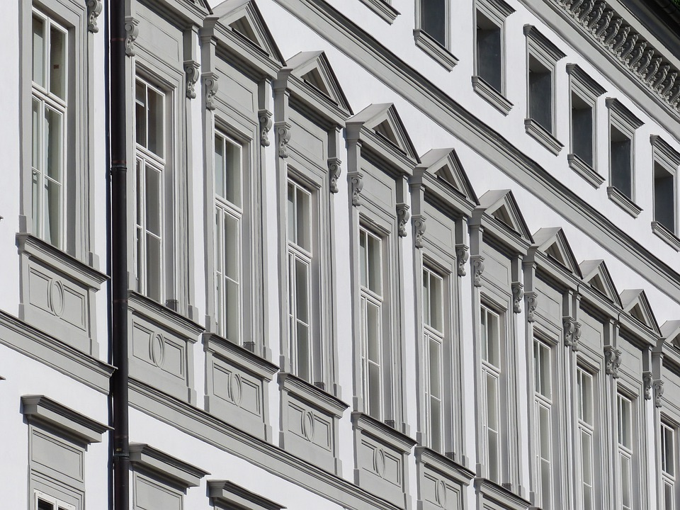 Facade, Window, House, Building, Architecture, Stucco