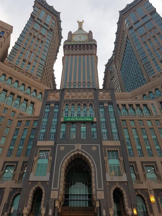 Architecture, City, Travel, Building, Sky, Mecca