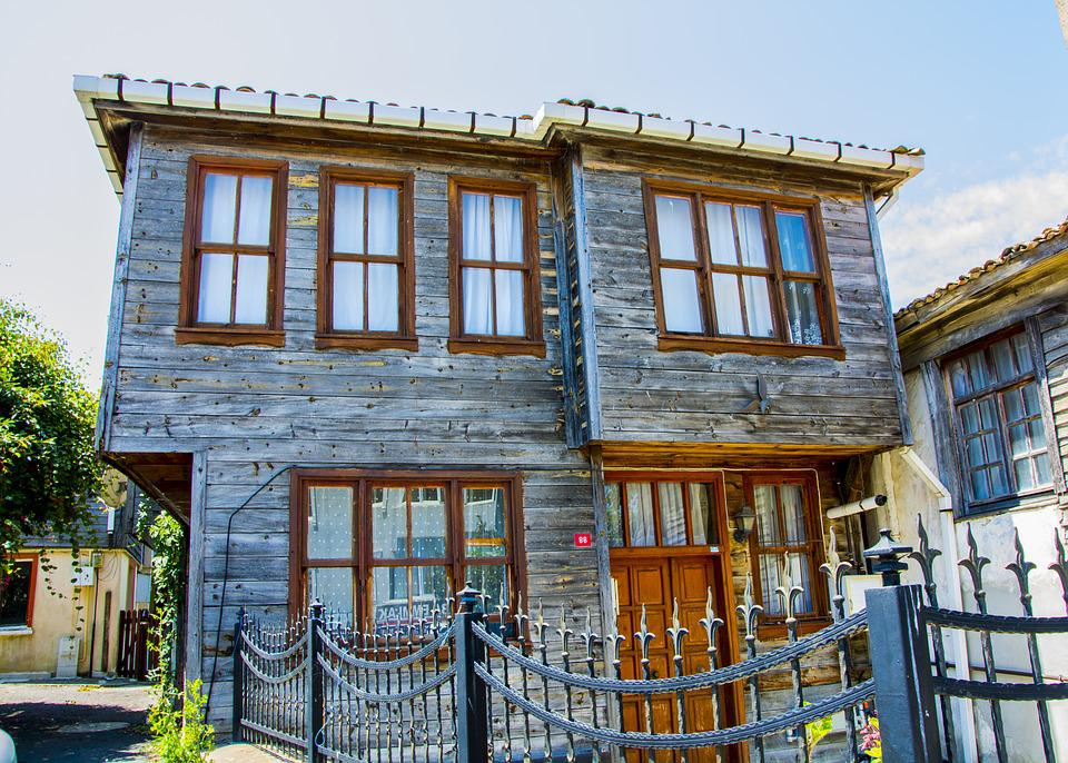 Historic House, Wood, Building, Architecture, Old, Home