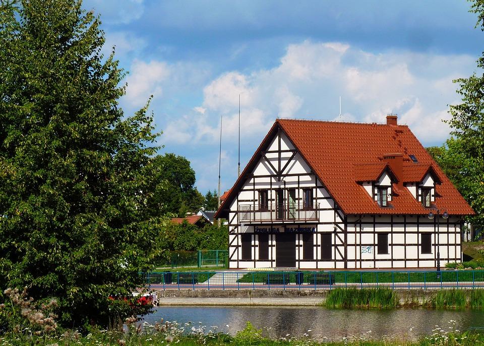 Building, Architecture, Masuria, Poland, Buildings