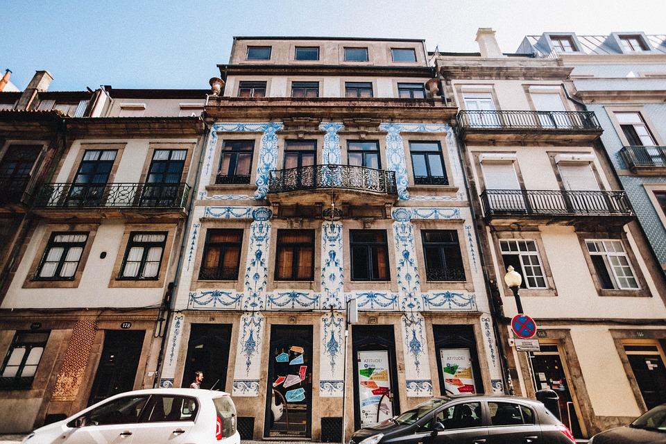 Portugal, Porto, Building, Urban, Architecture