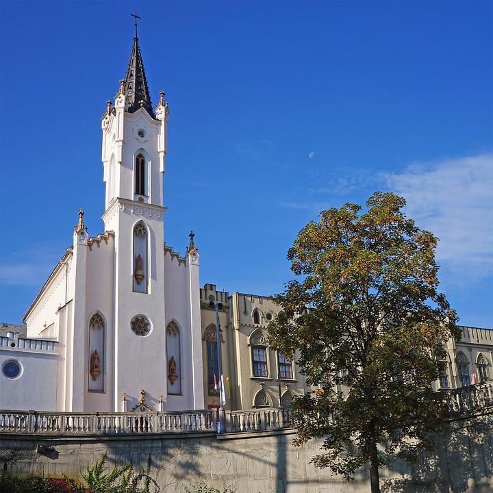 Church, Building, Catholic, Architecture, Regina Mundi
