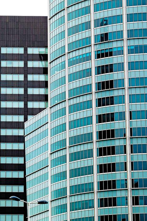 Tower, Building, Glasses, Modern, Architecture