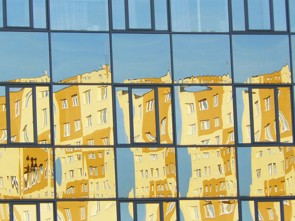 Windows, Reflection, Glass, Building, Architecture