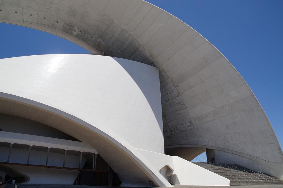 Auditorium, Auditorium Of Tenerife, Tenerife, Building