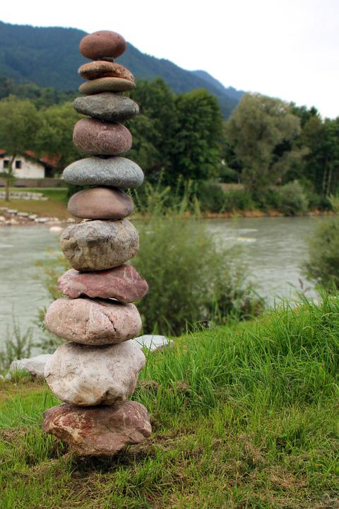 Stone, Tower, Stone Tower, Balance, Building, Layered